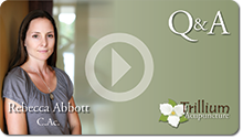 Rebecca Abbott's Trillium Acupuncture YouTube Video